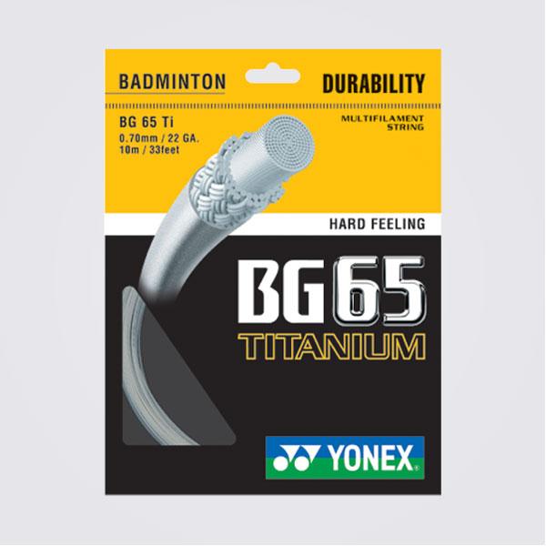badminton string bg65 titanium